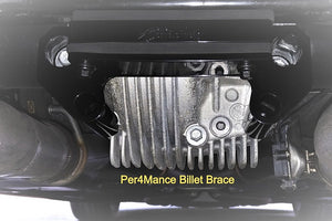 Per4mance Development Billet Differential Brace - 2015+ V8 Chargers/Challengers/300c