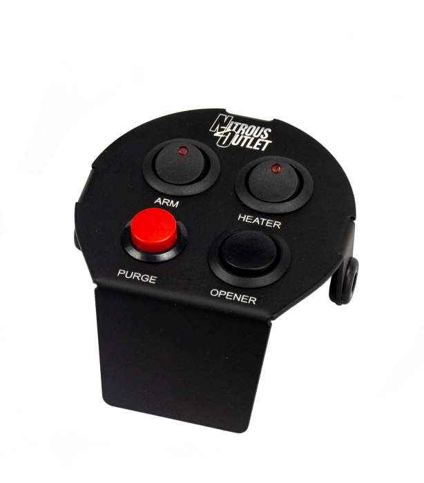 Nitrous Outlet 2015+ Challenger Cup Holder Switch Panel