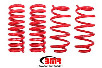 "BMR Suspension  Lowering Springs, Set Of 4, 1.25"" Drop, Performance Version"