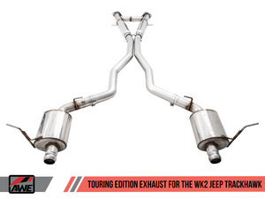 AWE EXHAUST SUITE FOR THE JEEP WK2 GRAND CHEROKEE TRACKHAWK