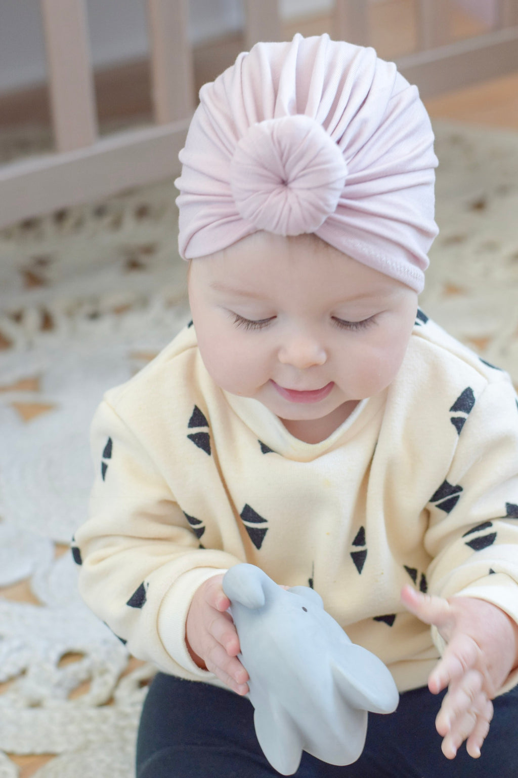 ec4ee65e2 Bow Turban and Top Knot turban for babies children and Moms | Mini ...