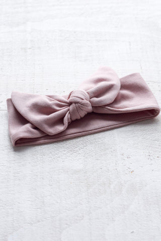 Turban Boucle Premium Rose Blush