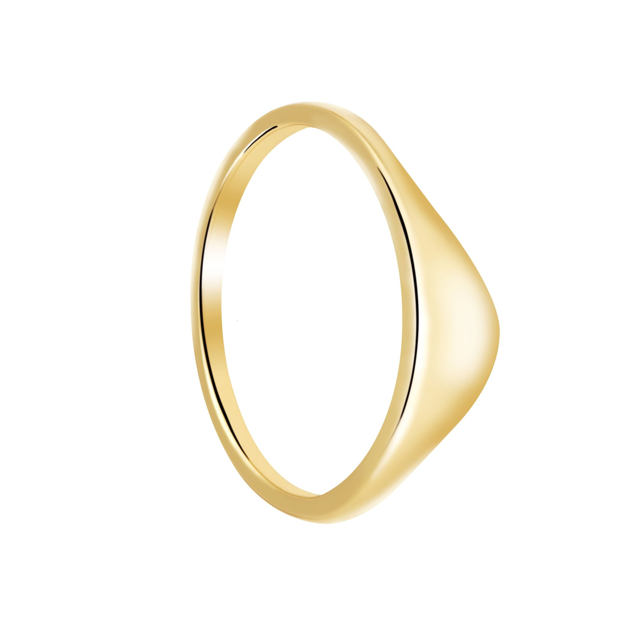 Molten Ring in Gold