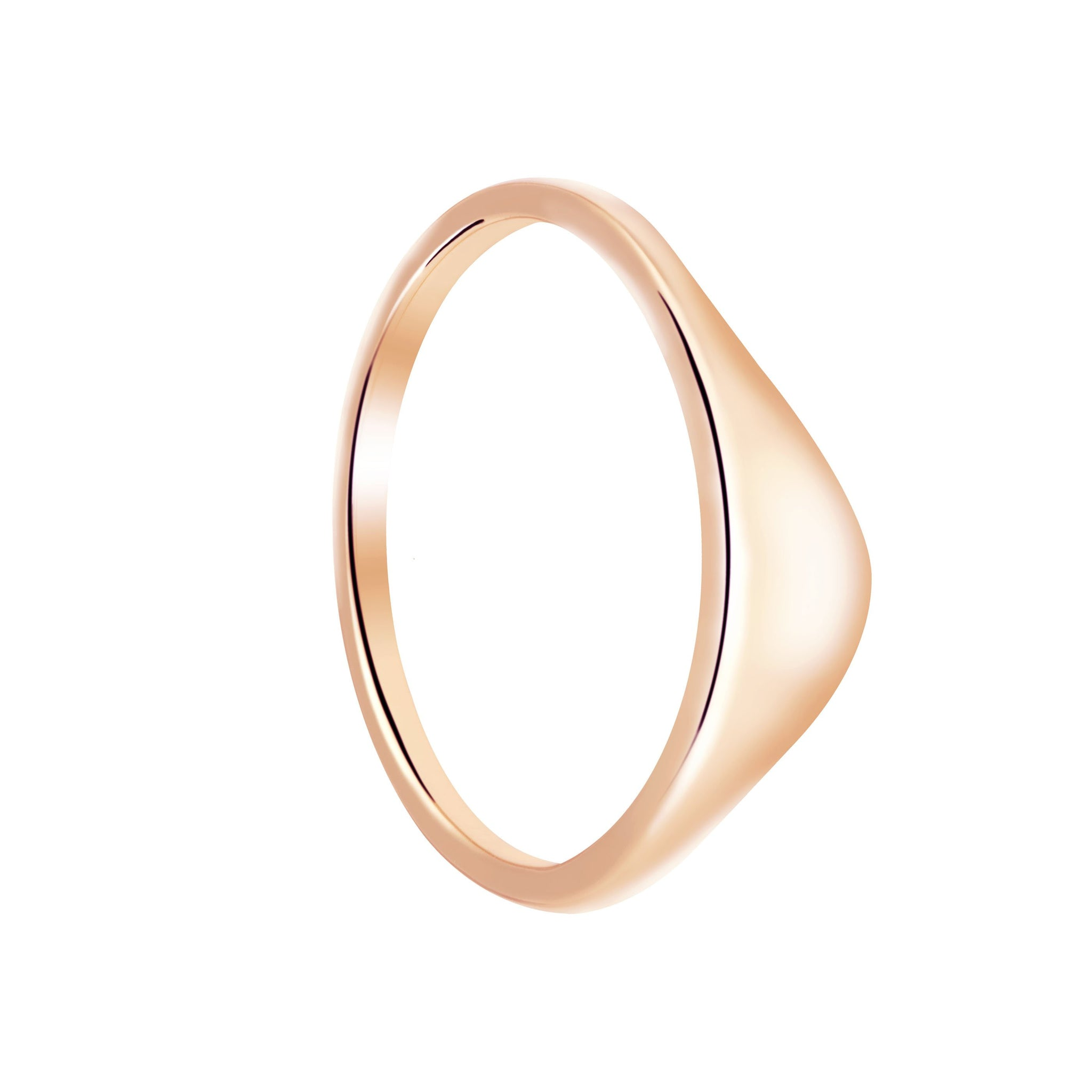 Molten Ring in Rose Gold