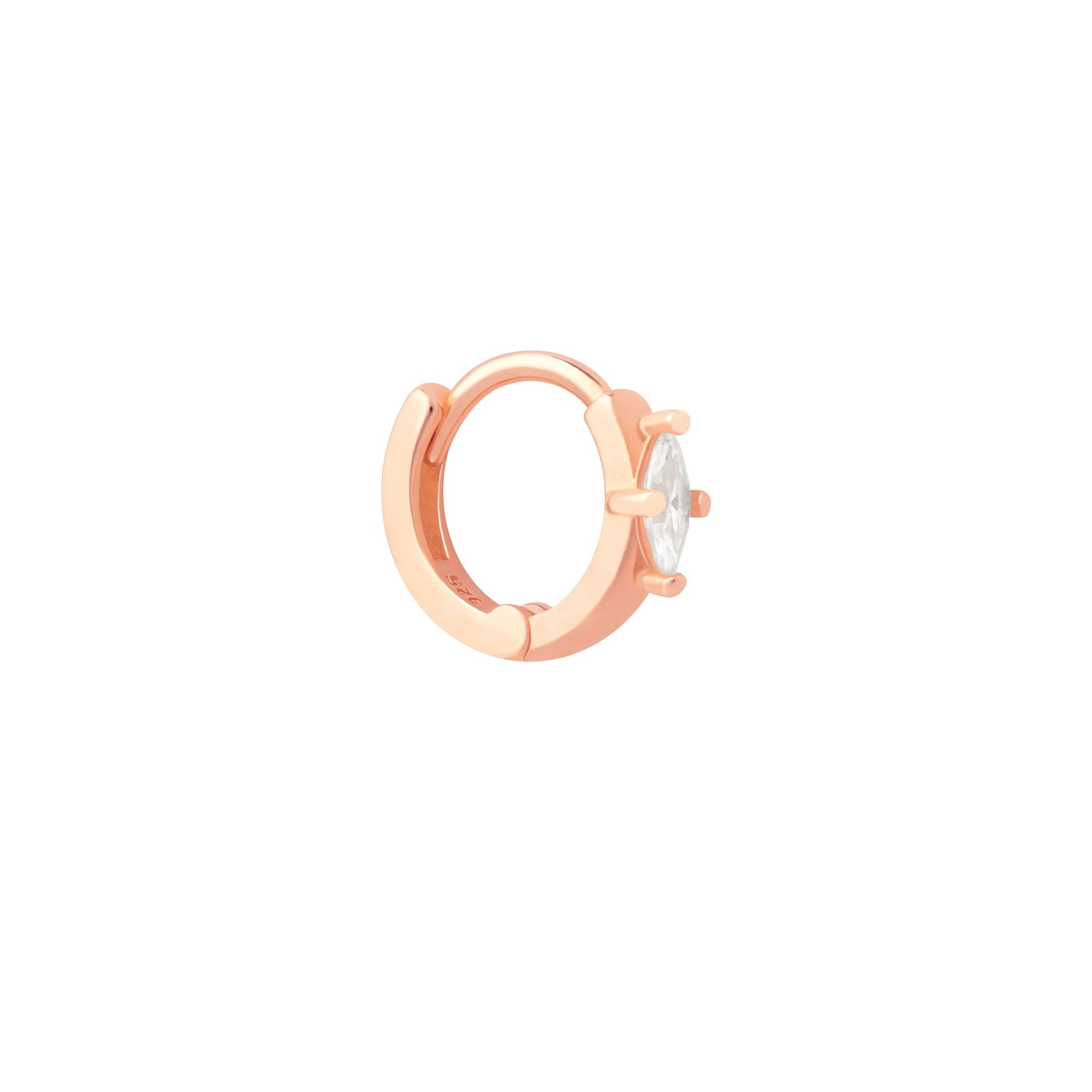 Navette Clicker in Rose Gold