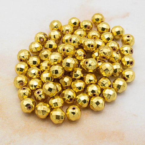 Loc Sprinkles™ - Gold Kit (100 Beads)