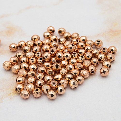 Loc Sprinkles™ - Rose Gold Kit (100 Beads)