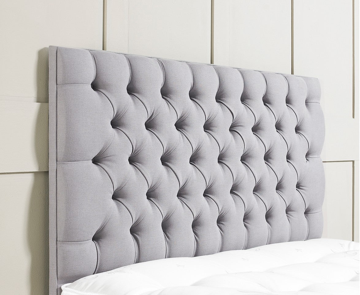 and with or beds diamontes ottoman buttons bed in the upholstered mirrored studded mirror meriel handmade uk headboard