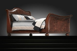 Frank Hudson Safari Bed - Brown