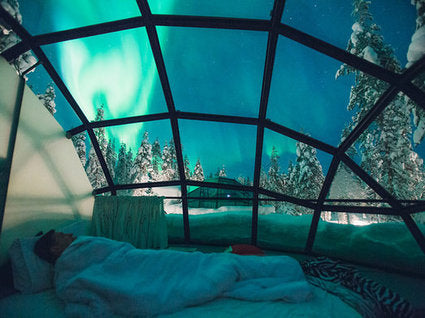 Sleeping under more than the stars