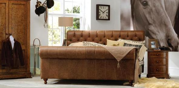 Frank Hudson Chesterfield Bed