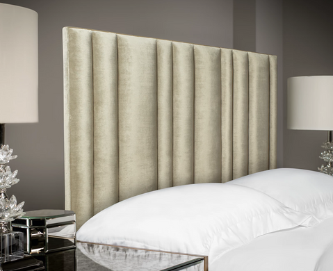 Multi-tubes Upholstered Headboard