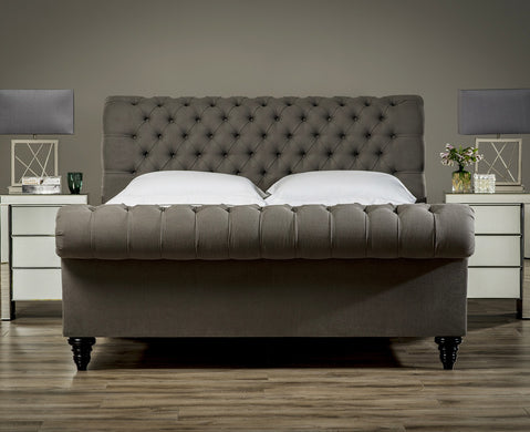 Stanhope Studded Chesterfield Bed