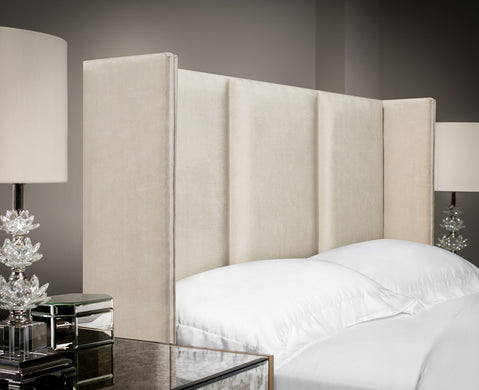 3-Panel Winged Headboard