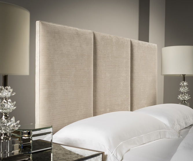 3-Panel Upholstered Headboard