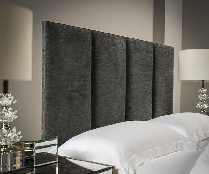 4-Panel Upholstered Headboard