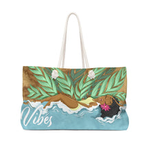 Load image into Gallery viewer, Vibes Beach Bag