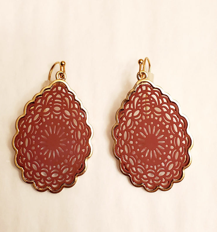 Amrita Filigree Dangle Earrings