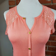 Blush Basic Sleeveless Top