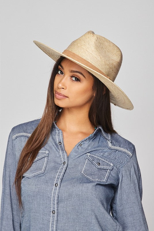 Palm Leaf Panama Hat