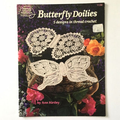 1138 Butterfly Doilies