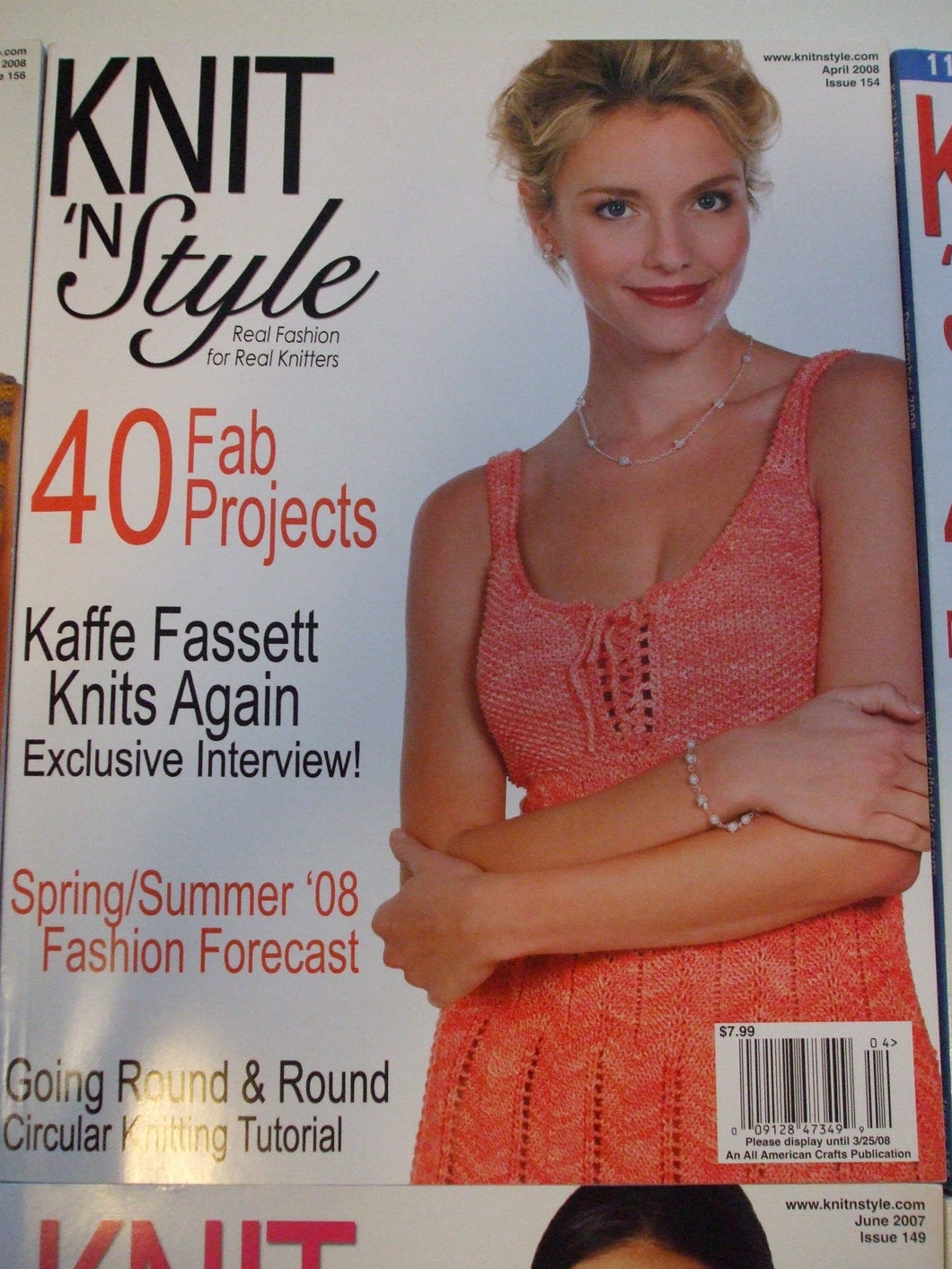 Knit & Style Magazine April 2008 #154