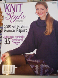 Knit & Style Magazine October 2008  #157