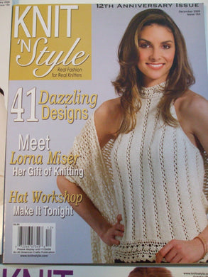 Knit & Style Magazine December 2009  #164