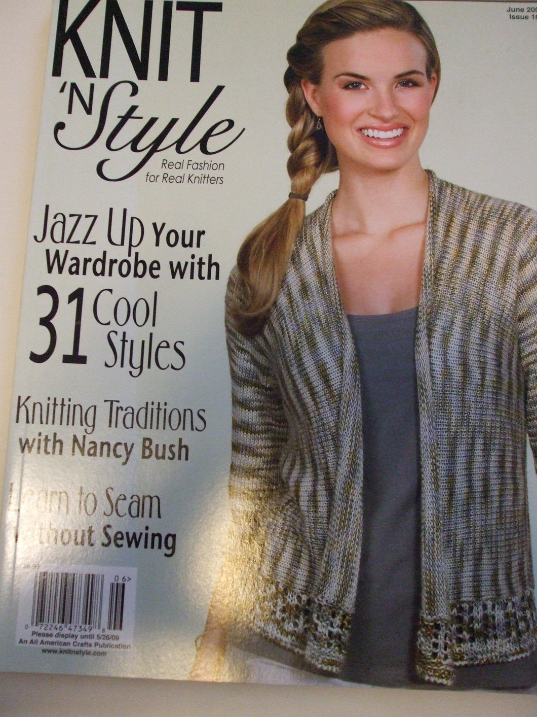 Knit & Style Magazine June 2009 #161