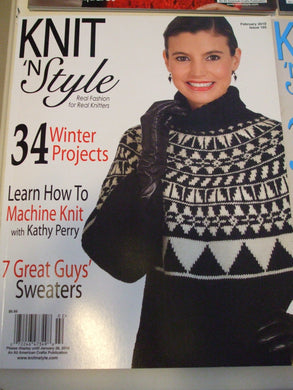 Knit & Style Magazine February 2010  #165