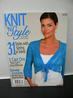 Knit & Style Magazine April  2010  #166