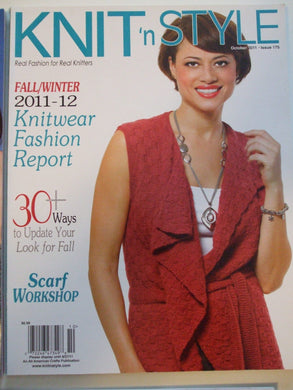 Knit & Style Magazine October 2011  #175