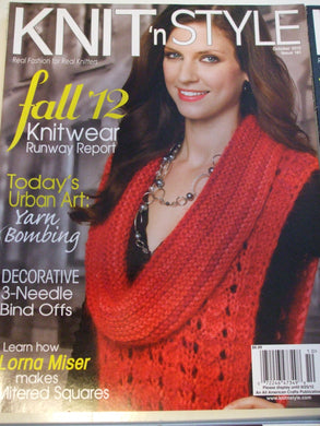 Knit & Style Magazine October 2012  #181