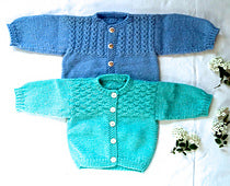 #23 Mock Cable & Basketweave Sweaters by Melinda Goodfellow