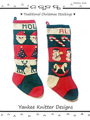 #24 Traditional Christmas Stockings by Melinda Goodfellow