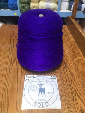 Mary Lue's Solo Cone Yarn