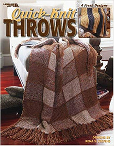 Quick Knit Throws     3615