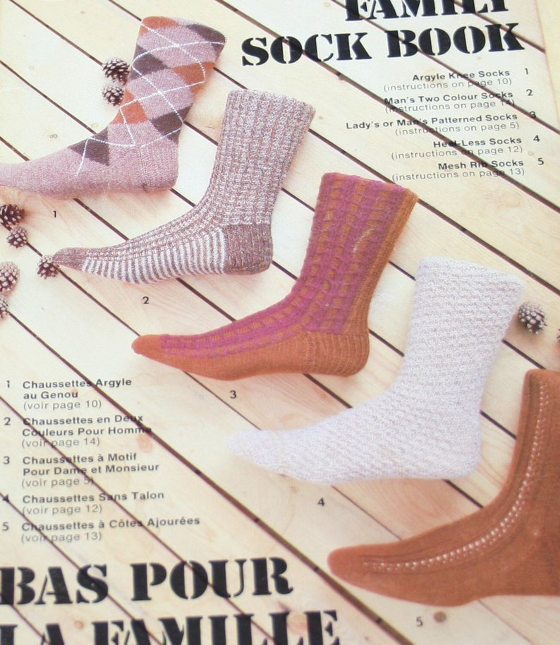 Beehive Family Sock Book  421 CC   Qty (1)