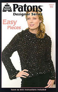 Patons Designer Series Easy Pieces     500817CC