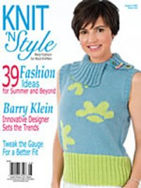 Knit & Style Magazine August 2009 #162