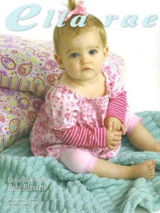 Classic Superwash Baby Blankets by Ella Rae Book 103
