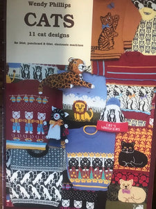 "Wendy Phillips""Cats"" For Knitting Machines"