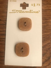 Load image into Gallery viewer, Vintage Streamline Buttons  11/16""