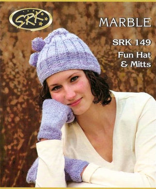 SRK  119  Fun Hat & Mitts