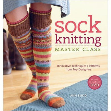 Sock Knitting Master Class includes DVD