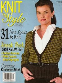 Knit & Style Magazine October 2009 #163
