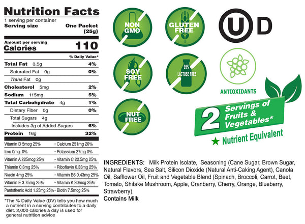 Better Than Good Snacks Nutritional Facts