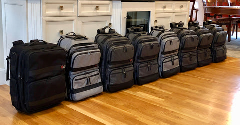 All prototypes of the Onli Travel Venture Rolling Pack