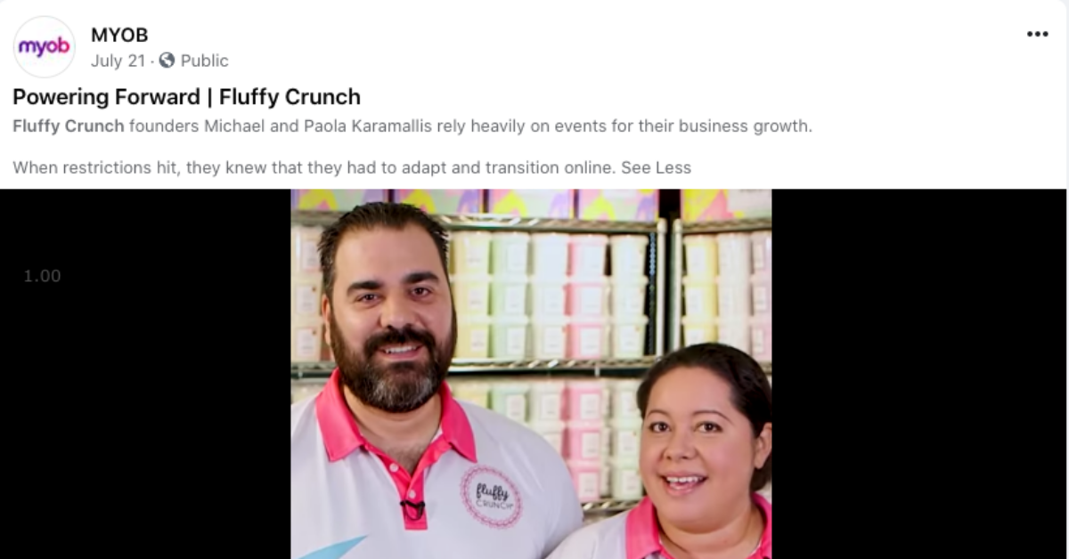 MYOB | How Fluffy Crunch Transitioned their Business Online During Covid19