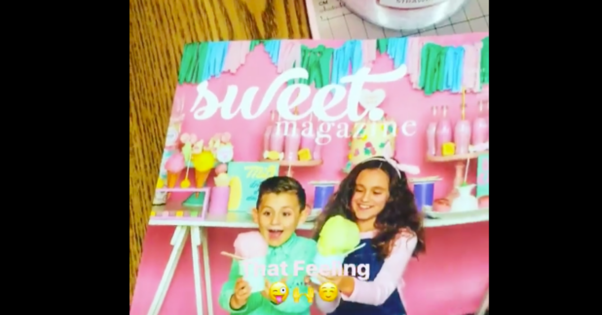Fluffy Crunch Fairy Floss Featured in Sweet Magazine